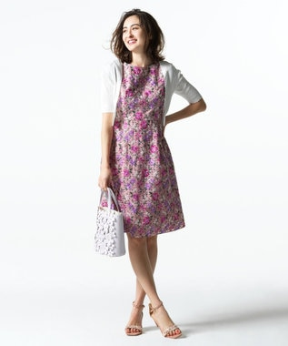 TOCCA 【洗える!】SPRING BOUQUET ドレス ピンク系7