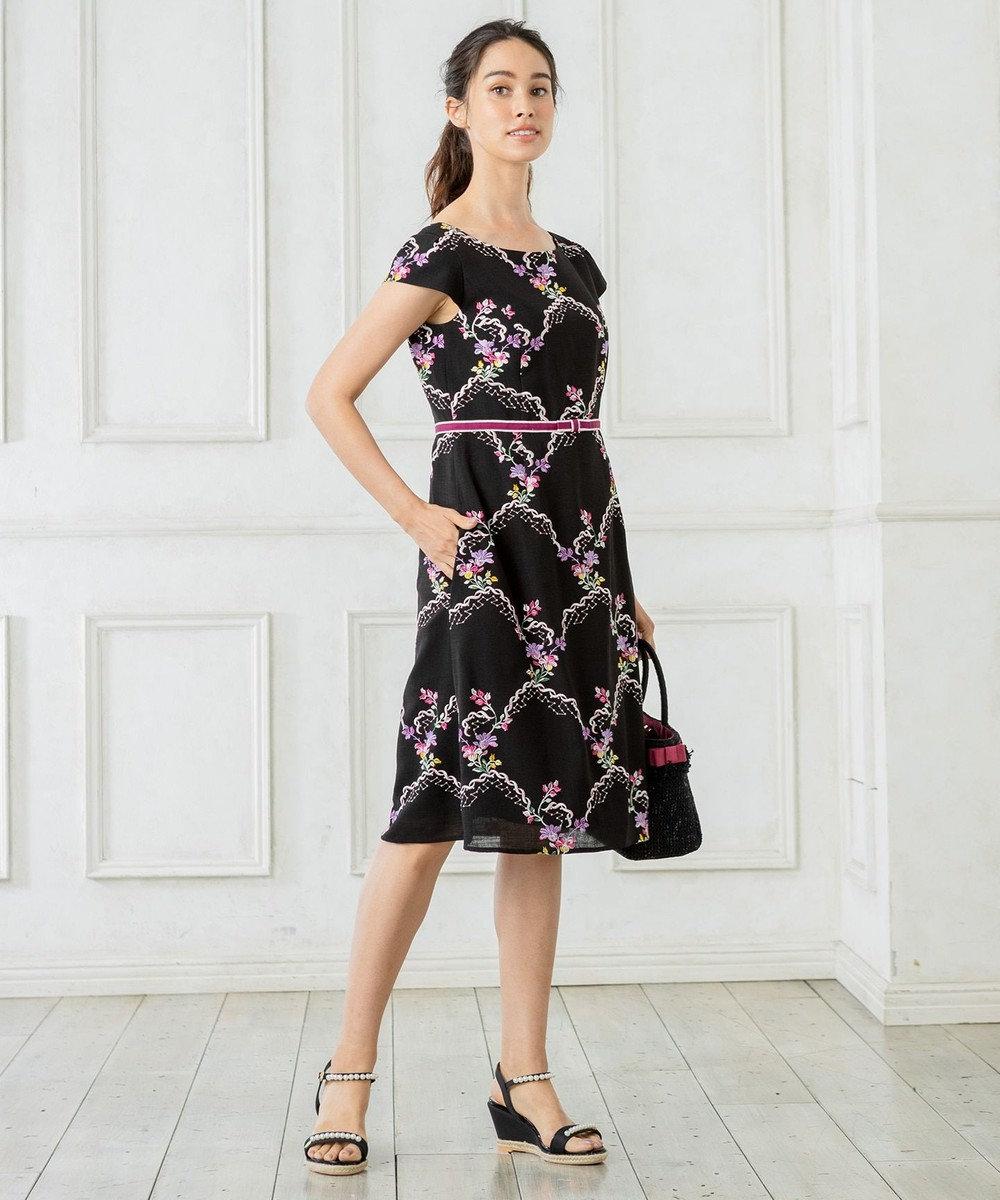 TOCCA 【25周年&洗える!】RAMBLING ROSE ドレス ブラック系7