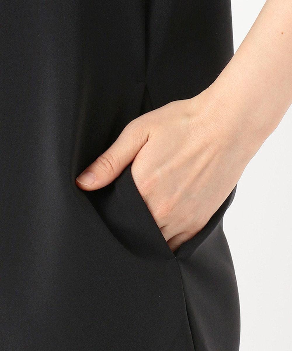 TOCCA 【洗える!】CRISTMASROSE SMILE フラワーモチーフドレス ブラック系