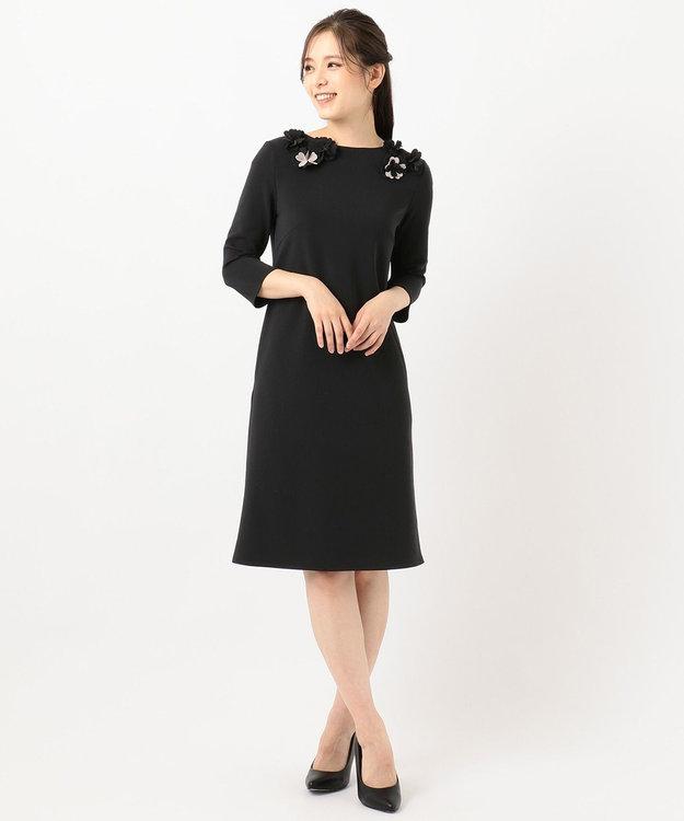 TOCCA 【洗える!】CRISTMASROSE SMILE フラワーモチーフドレス
