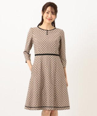 TOCCA 【洗える!】NASTRINO ドレス ベージュ系7