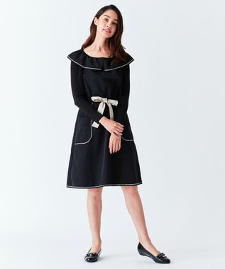TOCCA 【洗える!】LILY BELL ドレス ブラック系