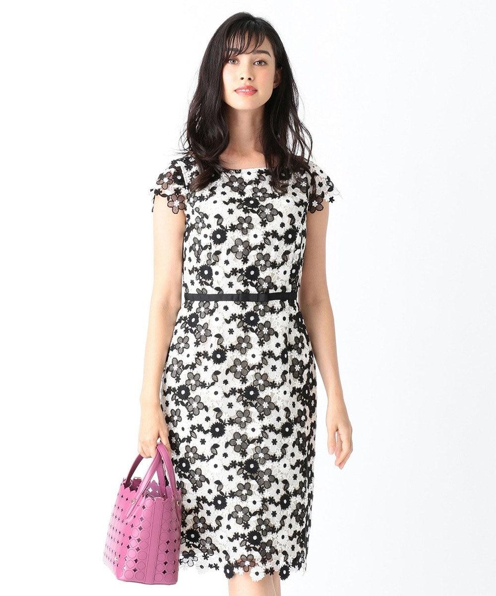 TOCCA 【洗える!】LACE FLOWER ドレス ブラック系7