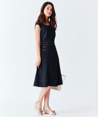 TOCCA 【CAPSULE COLLECTION】EMMA ドレス ネイビー系