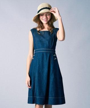 TOCCA 【CAPSULE COLLECTION】EMMA ドレス サックスブルー系