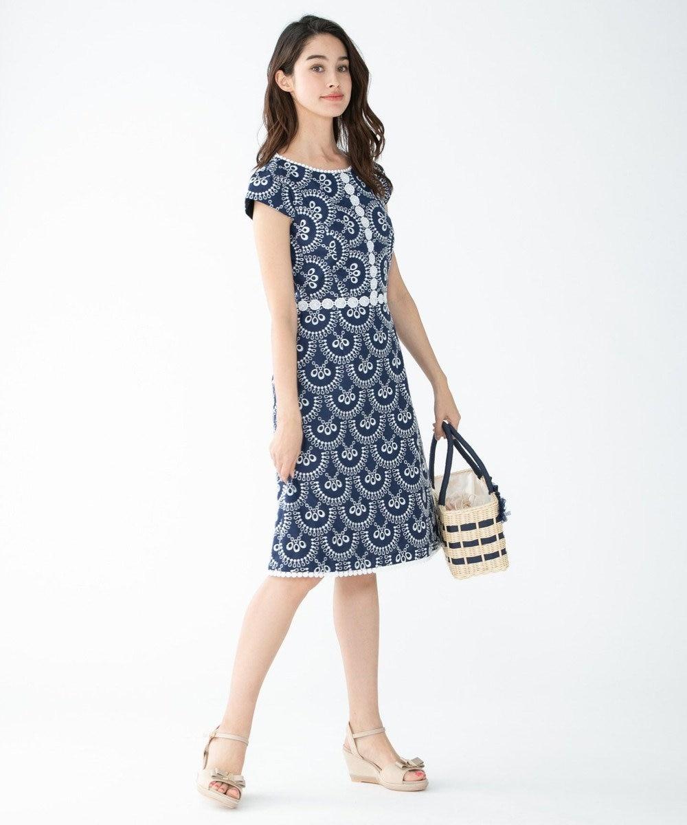 TOCCA 【洗える!】MOSAIC ドレス ネイビー系7