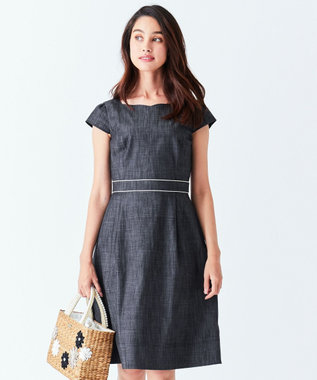 TOCCA 【洗える!】BAHR ドレス ブラック系