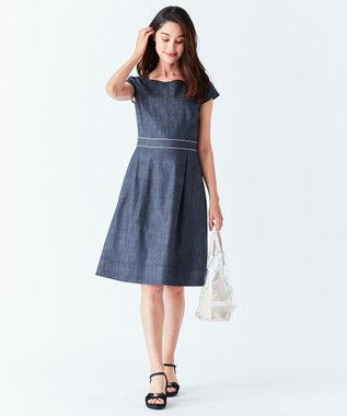 TOCCA 【洗える!】BAHR ドレス ネイビー系
