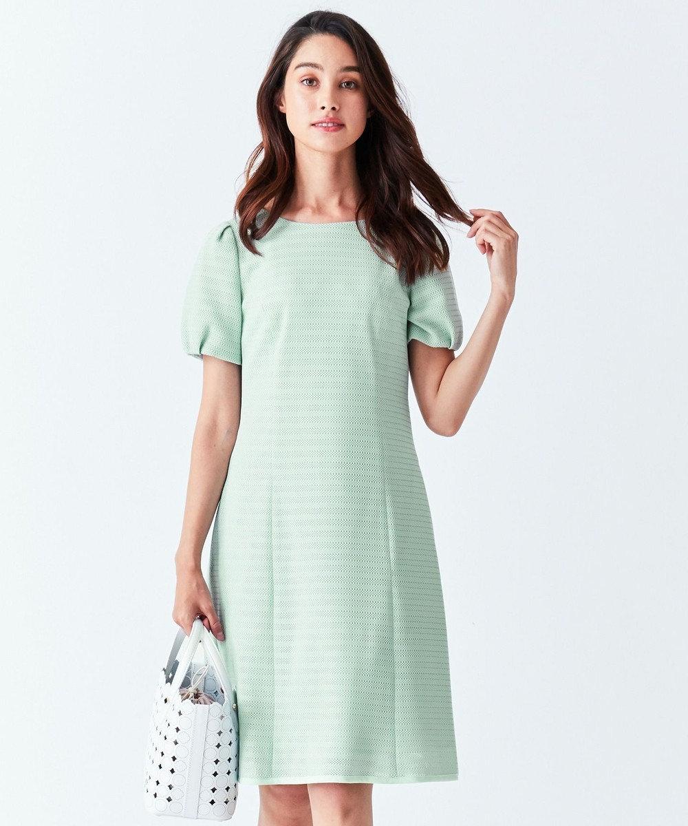 TOCCA 【洗える!】HIBISCUS ドレス ライトグリーン系