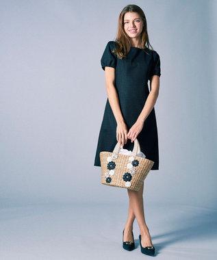 TOCCA 【洗える!】HIBISCUS ドレス ブラック系