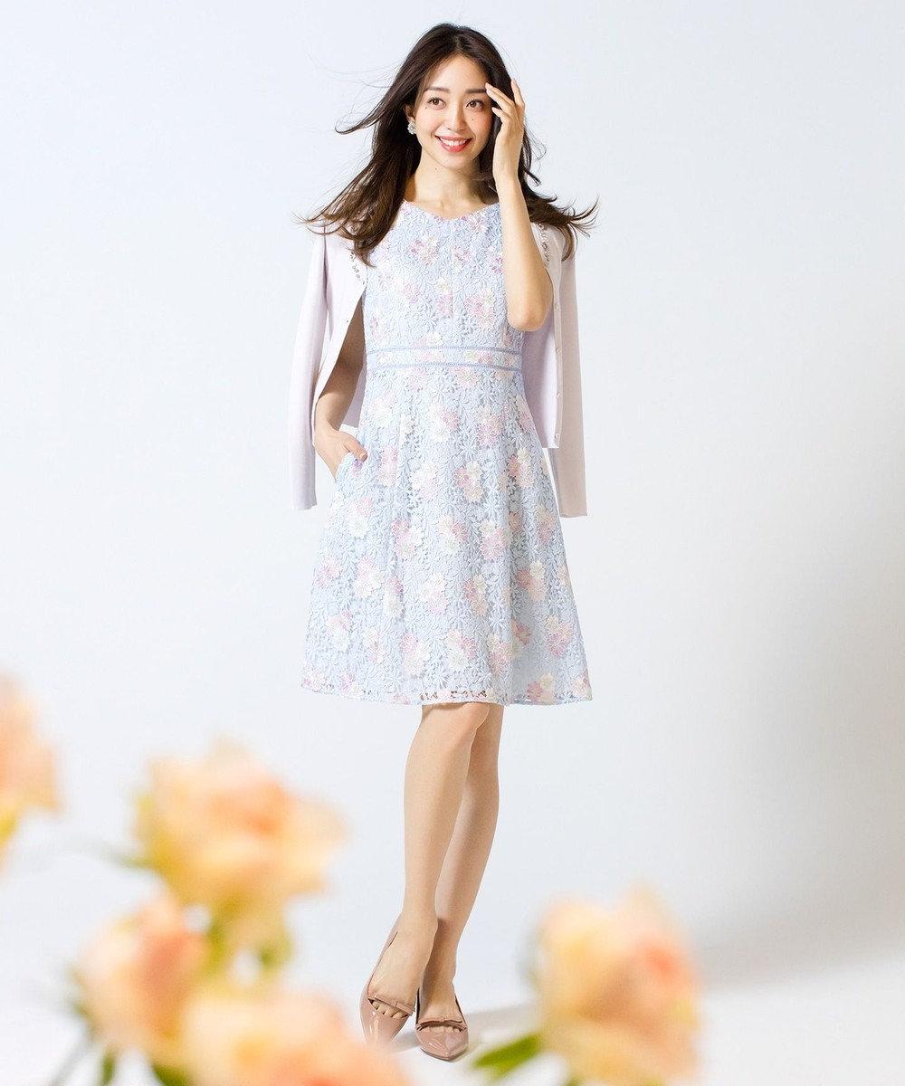 TOCCA 【2019春のWEB限定カラー】ANEMONE FLOWER ドレス [限定]スカイブルー系7
