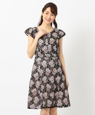 TOCCA 【2019春のWEB限定カラー】ANEMONE FLOWER ドレス ブラック系7