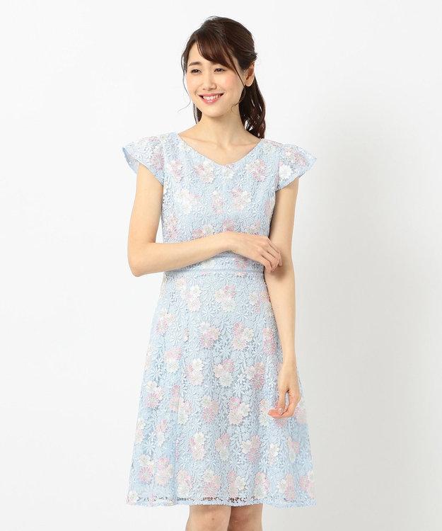 TOCCA 【2019春のWEB限定カラー】ANEMONE FLOWER ドレス