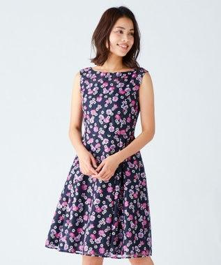 TOCCA 【2019春のWEB限定カラー】MARIETA ドレス ネイビー系7