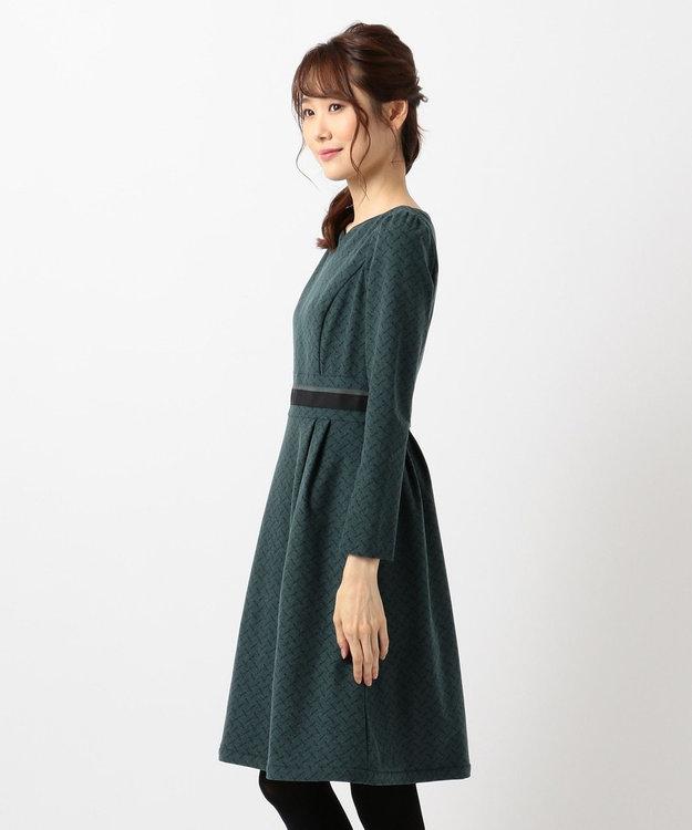 TOCCA 【洗える!】RIBBON DANCE PRINT ドレス