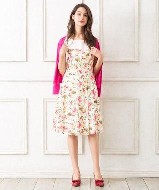 TOCCA ★【2018夏のWEB限定カラー】CROSSANDRA ドレス アイボリー系5