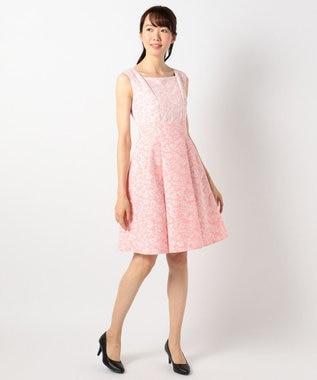 TOCCA 【洗える!】MISTY BLUE ドレス ピンク系