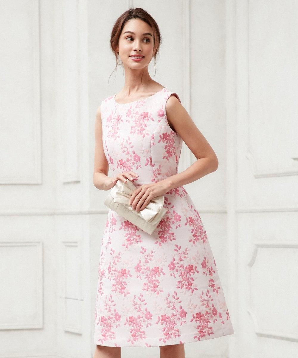 TOCCA 【WHITE LABEL】TRIFLE ドレス ピンク系