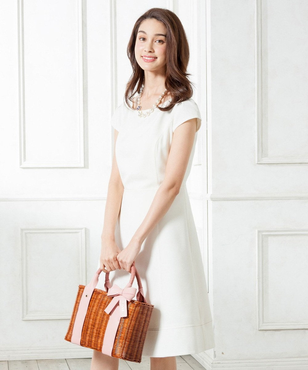 TOCCA 【WEB限定カラー有】MARCH WINDS ドレス アイボリー系