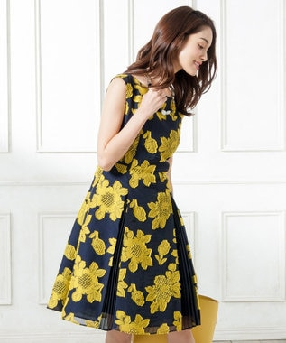 TOCCA FRAMBOYAN ドレス ネイビー系