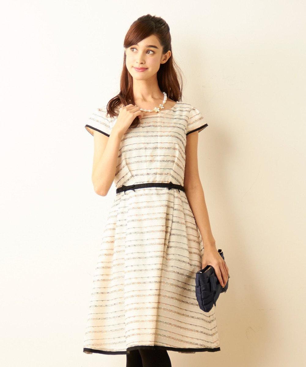 TOCCA 【8周年記念WEB限定カラー】FLAG ドレス アイボリー系