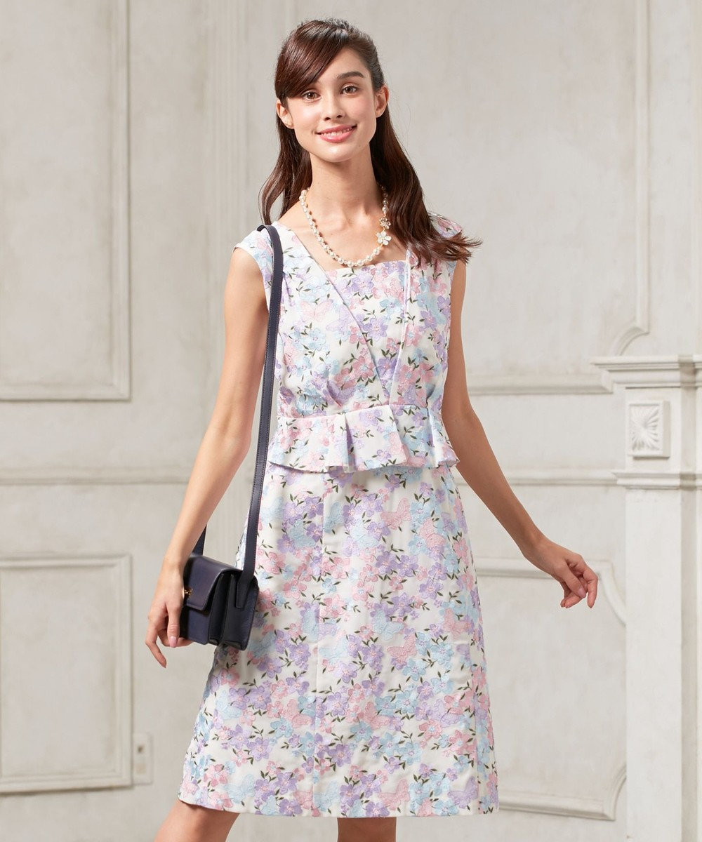 TOCCA 【WEB限定カラー有】SEA BUTTERFLY ドレス [WEB限定]ピンク系7