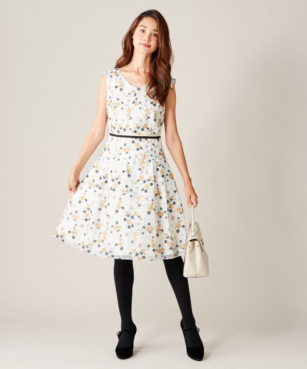 TOCCA IMPATIENS ドレス アイボリー系7