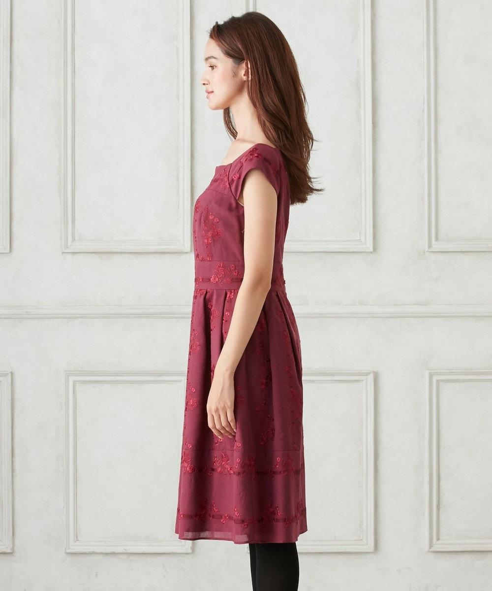TOCCA LAVIEN ROSE ドレス ワイン系7
