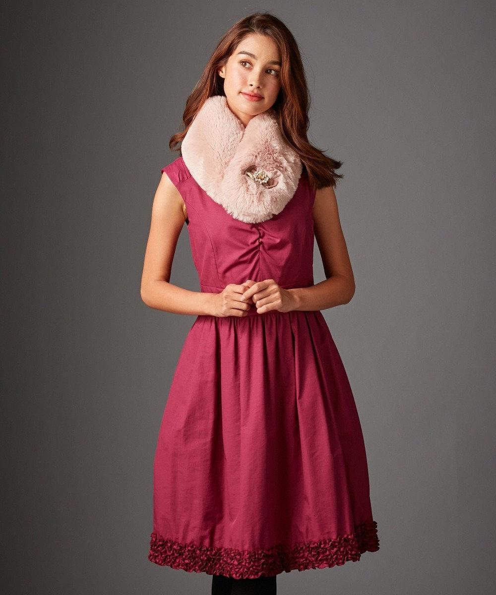 TOCCA 【WHITE LABEL】MARSHMALLOW ドレス ピンク系