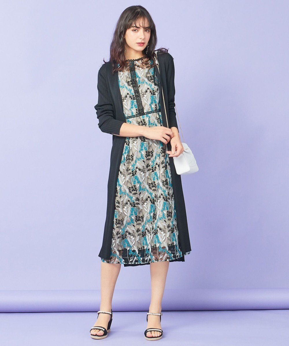 TOCCA 【TOCCA LAVENDER】Wavy Embroidery ドレス ブラック系7