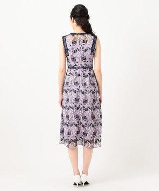 TOCCA 【TOCCA LAVENDER】Wavy Embroidery ドレス ネイビー系7