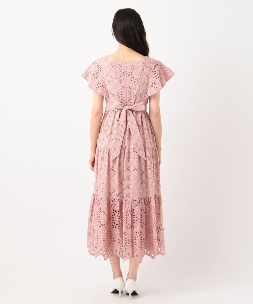 TOCCA 【TOCCA LAVENDER】Food Textile Cotton Embroidery ドレス ピンク系7