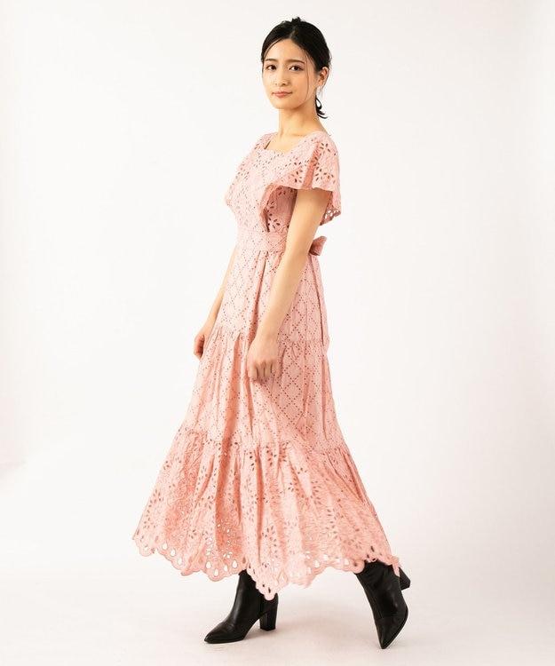 TOCCA 【TOCCA LAVENDER】Food Textile Cotton Embroidery ドレス