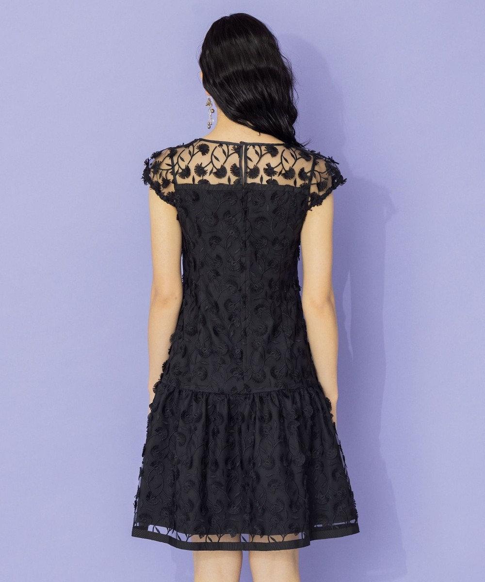 TOCCA 【TOCCA LAVENDER】Eyelash Embroidery ドレス ブラック系7