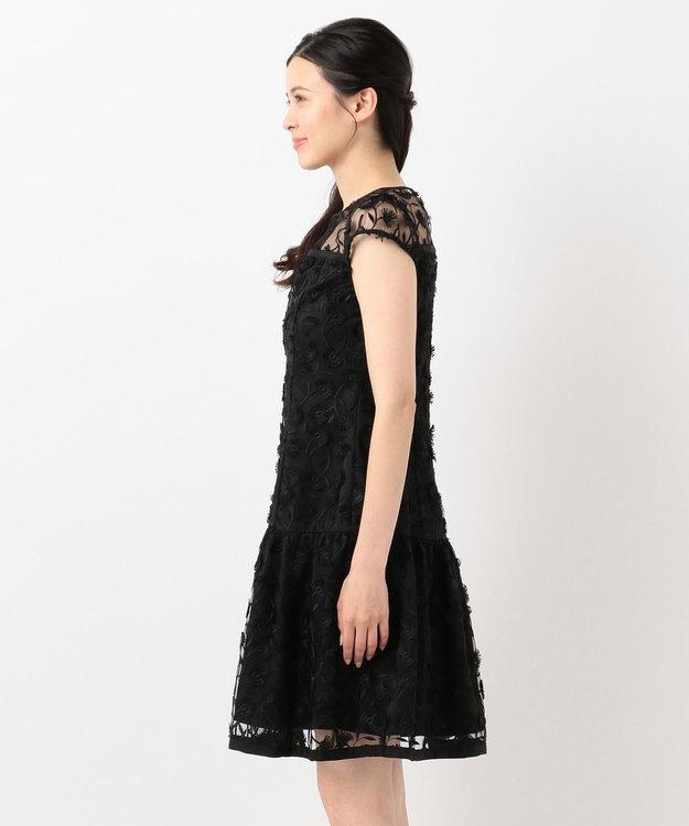 TOCCA 【TOCCA LAVENDER】Eyelash Embroidery ドレス