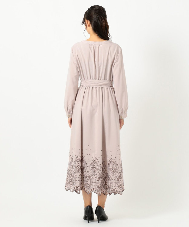 TOCCA 【TOCCA LAVENDER】Ethical Embroidered Shirt Dress ドレス