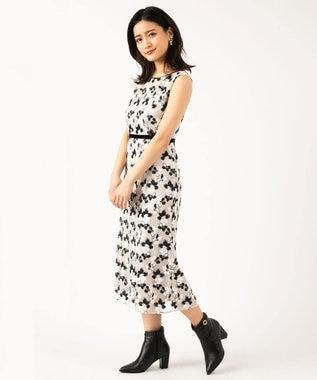 TOCCA 【TOCCA LAVENDER】Bicolored Flowar Emb Dress ドレス ブラック系7