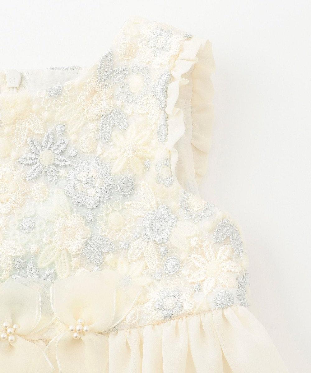TOCCA BAMBINI 【90cm】スタージャスミン ドレス アイボリー系7