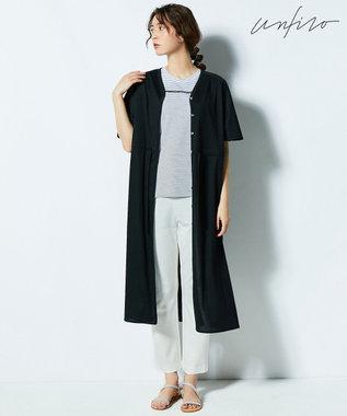 自由区 【Unfilo・2WAY】SHEER SUMMER ワンピース ブラック系