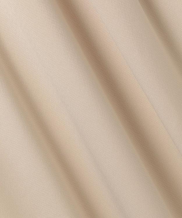 自由区 【UNFILO・Sサイズ有】ドレープサテン シャツワンピース (検索番号UG23)