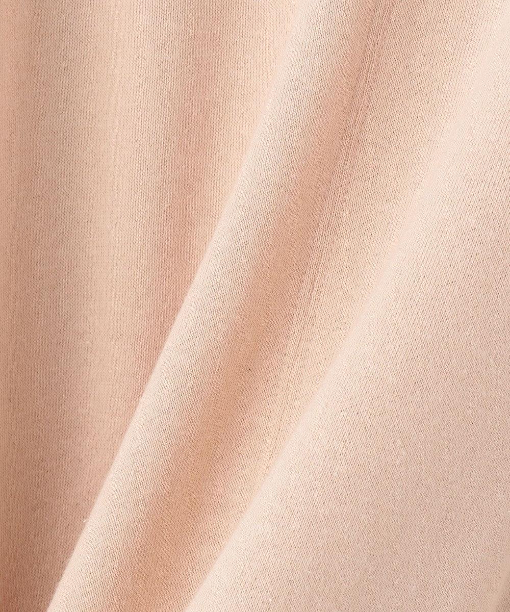 自由区 【Unfilo】ビンテージガーゼフリース サックロングワンピース ピンク系