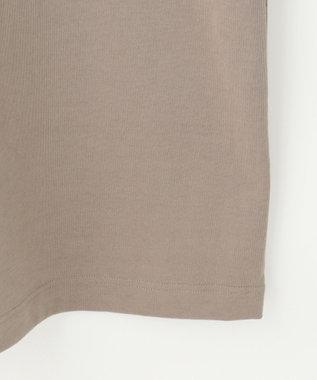 自由区 【Unfilo】コットン ミニロゴ スウェットワンピース ブラウン系