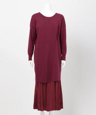 自由区 【UNFILO・Sサイズ有】選べるセットアップ(プルオーバー)検索番号:UJ25 ワイン系スカート