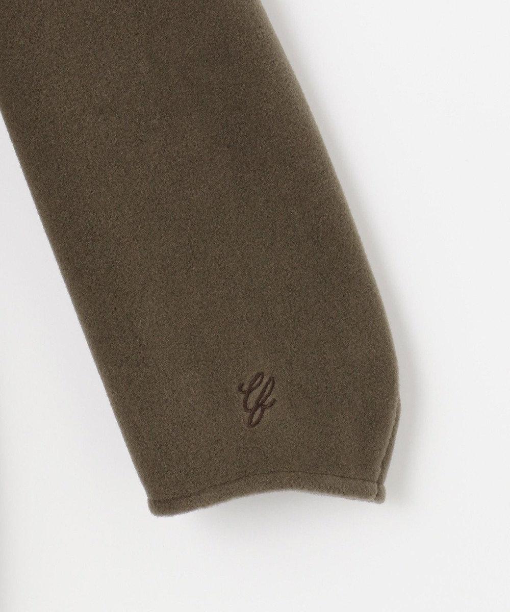 自由区 【UNFILO】マシュマロフリース フード付き ワンピース ブラウン系