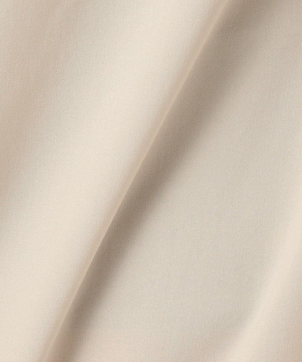 自由区 【WEB限定】【洗える】リネンライクワンピース ベージュ系