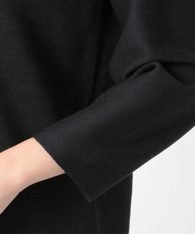 自由区 【洗える】DOUBLE CLOTH ニットワンピース