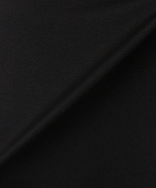 23区 【洗える】ハイゲージコンパクトジャージーワンピース ブラック系