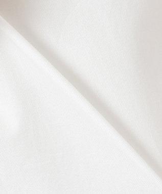 23区 【洗える】Canclini シャツワンピース ホワイト系