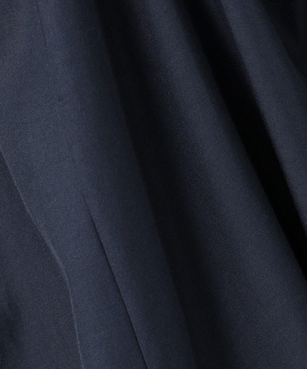 23区 【VERY6・7月合併号掲載/VERYコラボ】シルクコットンツイル ワンピース ネイビー系