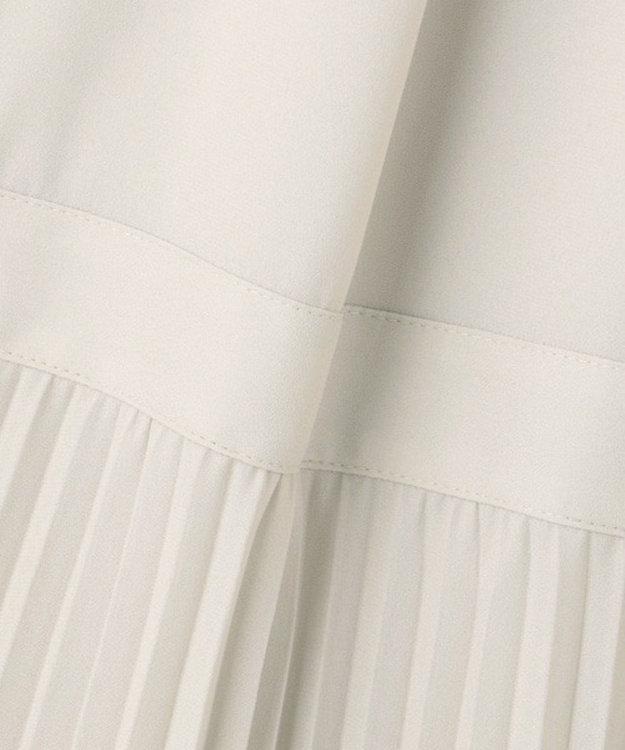 23区 【洗える】クリスタルアムンゼン ウエスト切り替え ワンピース